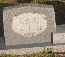 Sallie May <i>Rowlett</i> Cone