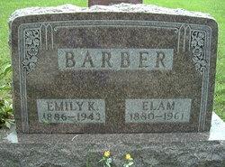 Emily Keziah <i>Osborn</i> Barber