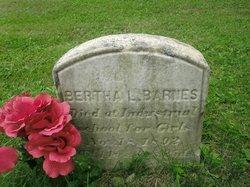 Bertha L Barnes