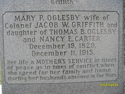 Mary Perkins <i>Oglesby</i> Griffith