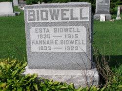 Hannah E. Bidwell