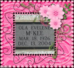 Ola Evelene Evelene <i>Carter</i> McKee