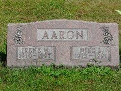 Irene Matilda <i>Maier</i> Aaron