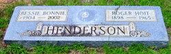 Bessie Bonnie <i>Dunbar</i> Henderson