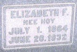 Elizabeth F. Lizzie <i>Hoy</i> Deibert