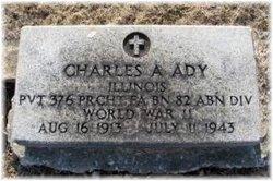 Pvt Charles Anthony Ady, Jr