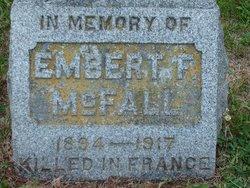 Embert F McFall