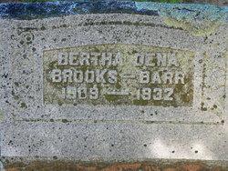 Bertha Dena <i>Brooks</i> Barr