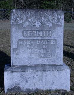 Mary <i>Davis</i> Martin Nesmith