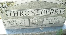 Albert D Throneberry