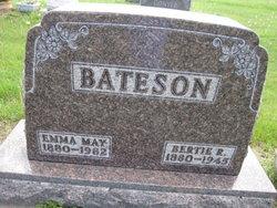Emma May <i>Chambers</i> Bateson