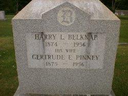 Gertrude E. <i>Pinney</i> Belknap