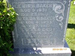 Matilda R <i>Dowd</i> Baker