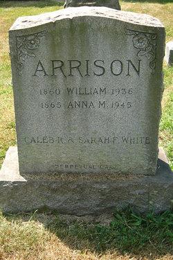Anna M <i>White</i> Arrison
