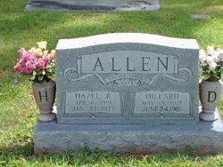 Hazel Bell <i>McDaniel</i> Allen