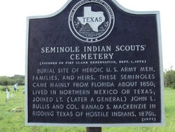 Seminole Indian Scout Cemetery