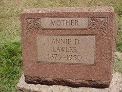 Annie D. <i>Parmer</i> Lawler