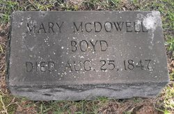 Mary <i>McDowell</i> Boyd