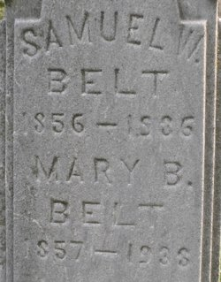 Mary B <i>Maxfield</i> Belt
