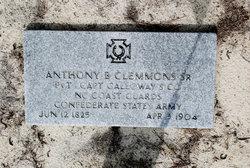 Pvt Anthony Badger Clemmons, Sr