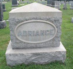 Amanda F <i>Stroble</i> Adriance