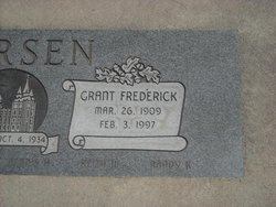 Grant Frederick Larsen