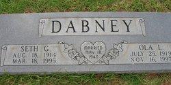 Ola Lee <i>Lay</i> Dabney