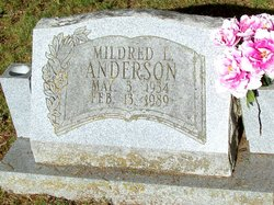 Mildred L Anderson