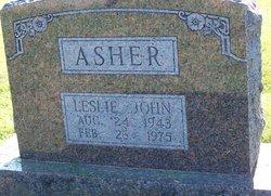 Leslie John Asher