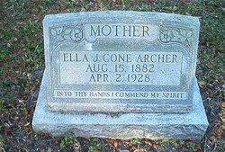 Ella J. <i>Cone</i> Archer