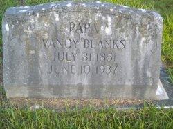 Vannoy B. Blanks