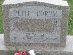 Zelta M. <i>Pettit</i> Corum