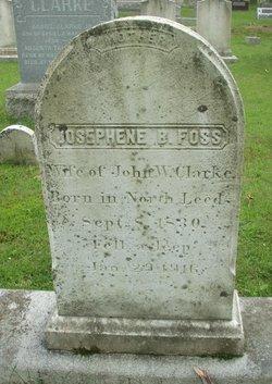 Josephene B <i>Foss</i> Clarke