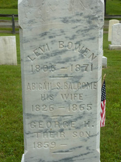 Abigail S. <i>Balcome</i> Bowen