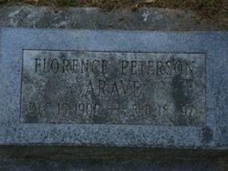 Florence <i>Peterson</i> Arave