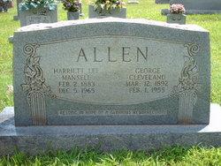 George Cleveland Allen