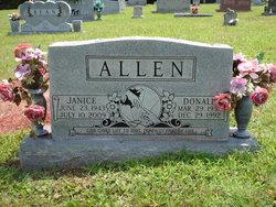 Janice <i>Carr</i> Allen