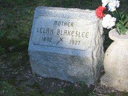 Lelah <i>Dexter</i> Blakeslee
