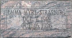 Emma Myrl Strasburg