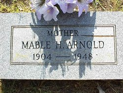 Mable Hester <i>Crawford</i> Arnold