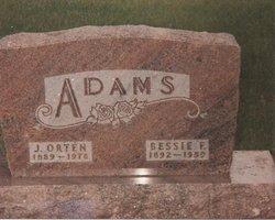Bessie F. <i>Zook</i> Adams