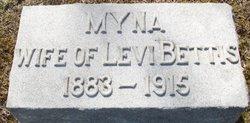 Myna Bell <i>Van Natter</i> Bettis