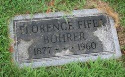 Florence <i>Fifer</i> Bohrer