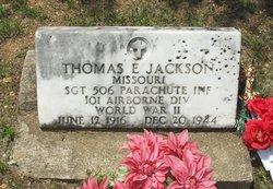 Thomas E Jackson