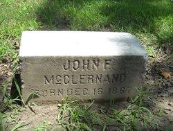 John F McClernand