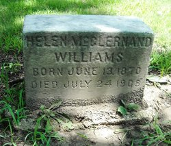 Helen <i>McClernand</i> Williams