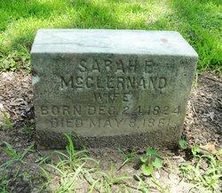 Sarah Freeman <i>Dunlap</i> McClernand