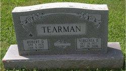Robert D Tearman