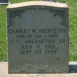 Charles W Abernethy
