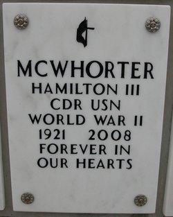 CDR Hamilton Mac McWhorter, III